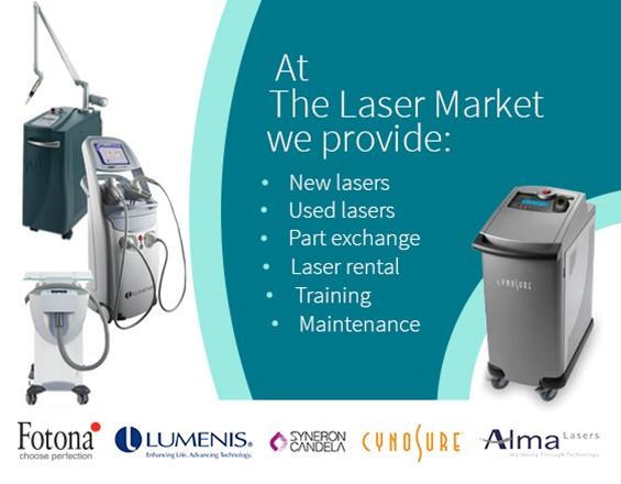 Laser Market - buy, sell or rent Medical Laser & IPL systems