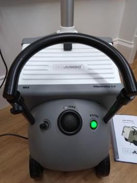 ULT Jumbo-Med smoke evacuator